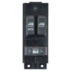 Master Window Switch 99 02 Silverado Sierra 1500 3500 Exc Crew Cab Black 3
