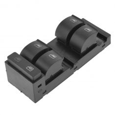 98-04 Audi A6; 02-03 S6; 03 RS6 Master Power Window Switch LF