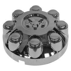03-10 Ddg Ram 2500, 3500; 11-14 Ram 2500, 3500 (w/17 Inch Wheel) Rams Head Chrome Center Cap (Mopar)
