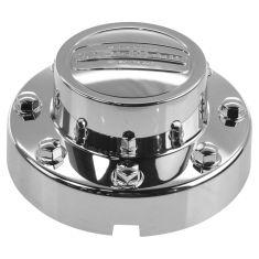 11-16 Ram 3500 w/DRW ~LONGHORN EDITION~ Logoed w/Steel Rear Wheel Chrome Center Cap LR = RR (Mopar)