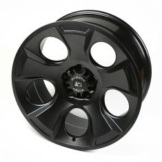 Drakon Wheel, 20x9, Black Satin, 07-14 Jeep Wrangler (JK)