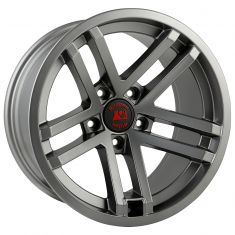 Jesse Spade wheel, 17X9, Satin Gun Metal, 07-14 Jeep Wrangler