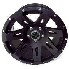 XHD Aluminum Wheel, Black Satin, 17 inch X 9 inches