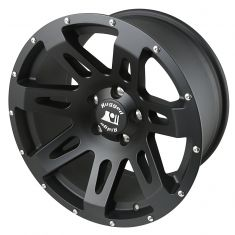 XHD Wheel, 18x9, 5x5, Black Satin