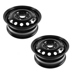 11-13 Ford Fiesta; 04-11 Focus (15 x 6 inch) 14 Hole Steel Wheel Pair