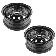 01-03 Civic; 04-05 Civic Cpe & Sdn; 01-04 EL (15 x 6 inch) 4 lug Steel Wheel Pair