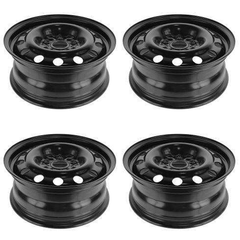 07-11 Toyota Camry, Camry Hybrid (16 x 6 1/2 in) Steel Wheel SET of 4