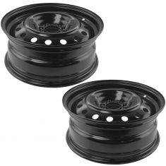 06-11 Chevy HHR; 04-05 Malibu (New Body); 06-08 Malibu (16 x 6 1/2 in) Steel Wheel PAIR