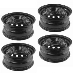 06-11 Chevy HHR; 04-05 Malibu (New Body); 06-08 Malibu (16 x 6 1/2 in) Steel Wheel (Set of 4)