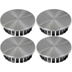 05-12 Chevy; 05-10 Pontiac Multifit (w/16-18 inch Alum Whl) Brushed Alum Center Cap (Dorman) Set