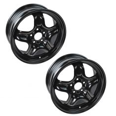 07-08 Cobalt, G5; 07-11 HHR; 06-08 Malibu (16 x 6 1/2 in - 5 Bolt) Steel Wheel Pair (Dorman)