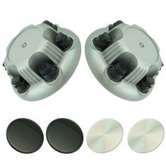 99-13 GM FS 1500 PU, Van, SUV, Astro, Safari w/Silver Painted Steel Whl(NX7Gray Center Cap (DM) Pair