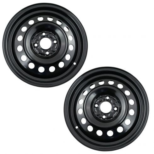 12-17 Nissan Versa Sedan  (15 x 5 1/2 in - 4 Bolt - 100mm Bolt Circle) Steel Wheel Set of 4 (Dorman)