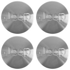 05-10 Comdr, Gr Cher; 07-10 Cmps; 08-12 Lbrty (w/ 17, 18 Al Whl) Jeep Lgd Cntr Cap Set of 4 (MP)