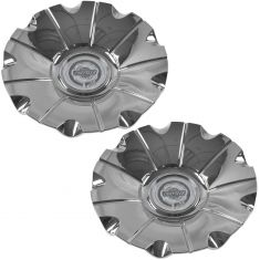 07-10 Chrysler 300 (w/18 x 7 1/2, 9 Spoke Chrome Wheel) ~Chrysler~ Loged Center Cap Pair (Mopar)