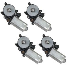 1995-01 Lumina Power Window Motor Set 4 Piece