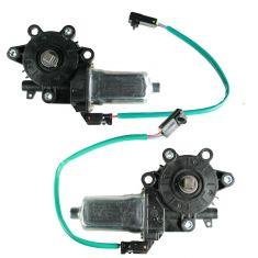 1993-04 Nissan Altima Maxima Frontier Xterra Power Window Motor Pair