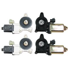 1999-07 GM Trucks Power Window Motor Set 4 piece