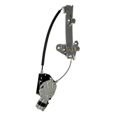 01-06 Sebring, Stratus Rear Door Power Window Regulator w/Motor RR
