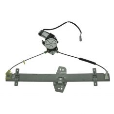 Power Window Regulator with Motor Assembly Replacement Rear Right Passenger Side Window Regulator fit for 2003-2008 Honda Pilot Replace 72710S9VA01 72710S9VA02 748-513