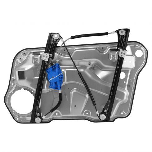 99-11 VW Golf Front Door Power Window Regulator w/o Motor (w/Panel) LF