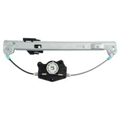 Power Window Regulator w/o Motor RR
