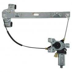 03-09 Hummer H2 Rear Door Power Window Regulator w/Motor LR (AC Delco)