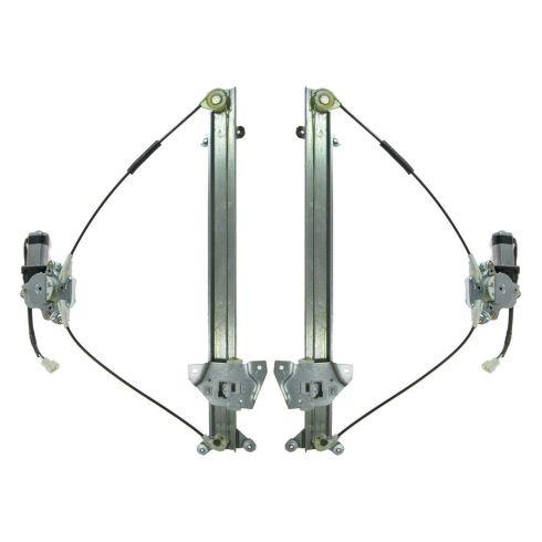 Transparent Purple Hose /& Stainless Banjos Pro Braking PBR7727-TPU-SIL Rear Braided Brake Line