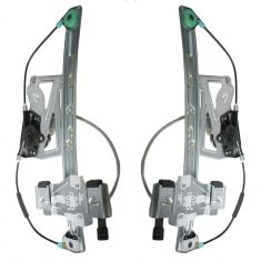 2000-01 Cadillac Deville Power Window Regulator w/Motor PAIR