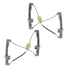 2006-11 Fusion, Milan, Mkz Power Window Regulator w/o Motor Front PAIR