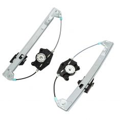 Power Window Regulator w/o Motor Rear Pair