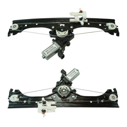 12-13 Fiat 500; 14-17 500 2DR; 12-16 500C Conv Front Door Power Window Regulator w/Motor Pair (FIAT)