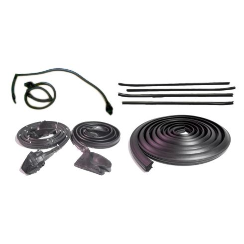1970-81 Camaro Firebird Hardtop Full Weatherstrip Set for Cars Without Décor Package
