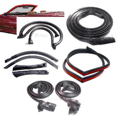 87-92 Chevy Pontiac Camaro Firebird Convertible Weatherstrip Kit