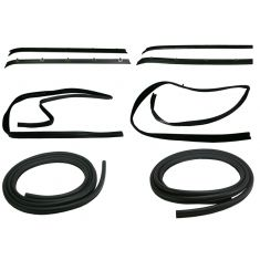 1981-87 GM Pickup Jimmy Blazer Door Weatherstrip Kit