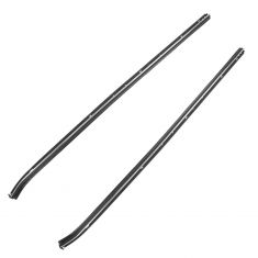 73-77 Chevy El Camino, GMC Sprint, Chevelle, Malibu 2DR Outer Window Sweep Weatherstrip PAIR