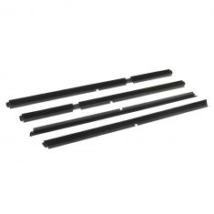 99-04 Jeep Grand Cherokee Front & Rear Door Outer Window Sweep Set