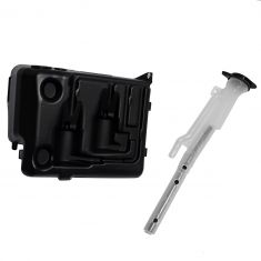 96-02 GM C/K PU,  Escalade, Suburban, Tahoe, Yukon (w/o Rear Wiper) Windshield Washer Reservoir
