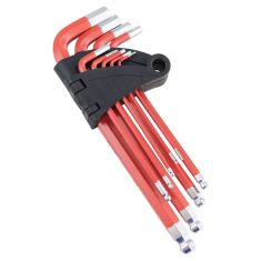 9pc Long Arm SAE Allen Hex Key Set (Ball End)