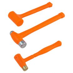 3pc Dead Blow Hammer Set