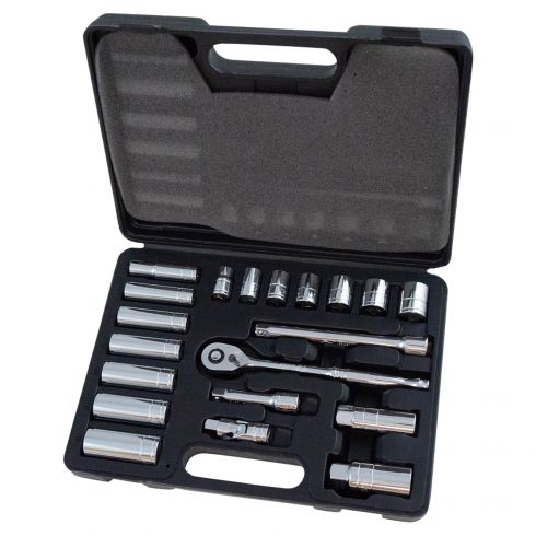 20pc 3/8 Drive SAE Socket Set