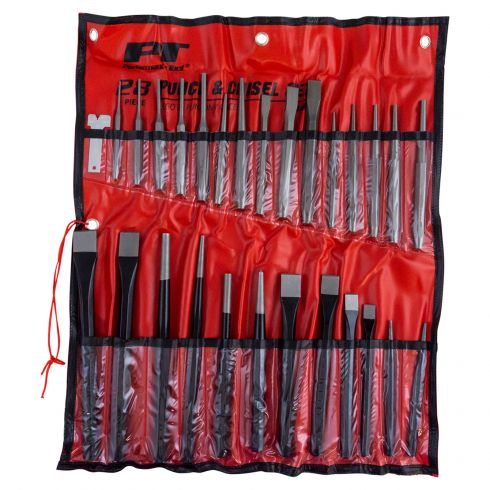 28pc Punch and Chisel set