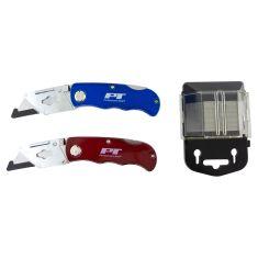 52 pc Folding LB Utility Knife Set