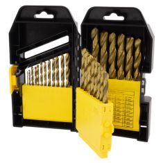 29 pc. Titanium Coated Drill Bit Set