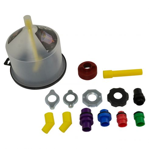 Spill Free Coolant Funnel