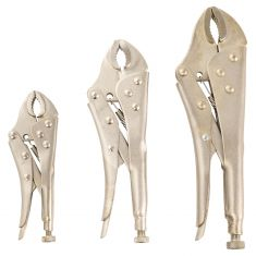 3pc Locking Pliers Set