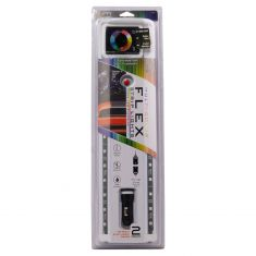 24 Inch Multi-Color Flex Strip Lights 2pk