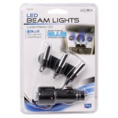 Blue LED Triple Interior Beam Lights