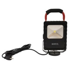 Single Fixture LED Work Light (950 Lumens) w/Magnetic Base & 12 Foot 18/3 SVT Cord
