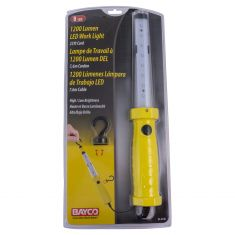 Corded LED (1200/600 Lumens) Yellow Hanging/Dual Magnetic Worklight w/25 foot 18/2 SJT Cord